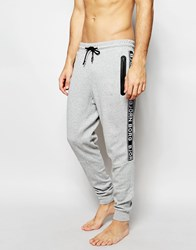 Bjorn Borg Cuffed Joggers In Slim Fit Grey
