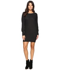 Lanston Boyfriend Mini Dress Black Women's Dress