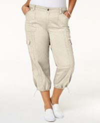 Styleandco. Style Co. Plus Size Capri Cargo Pants Only At Macy's Stonewall