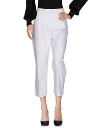 Gerry Weber Trousers Casual Trousers White