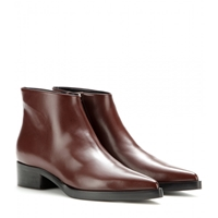 Stella Mccartney Cora Faux Leather Ankle Boots Brown