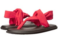 Sanuk Yoga Sling 2 Bright Red Women's Sandals