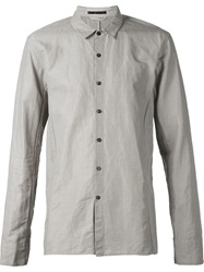 The Viridi Anne The Viridi Anne Button Shirt Grey