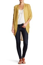 Painted Threads Open Cardigan Yellow
