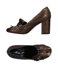 Anna F. Loafers Bronze