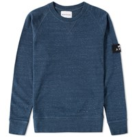 Mki Miyuki Zoku Mki Arm Badge Sweat Blue