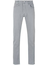 A.P.C. Denim Straight Leg Jeans Men Cotton 30 Grey