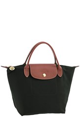 Longchamp 'Mini Le Pliage' Handbag Black