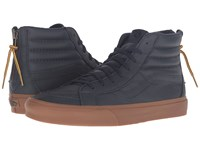 Vans Sk8 Hi Reissue Zip Hiking Navy Gum Lace Up Casual Shoes