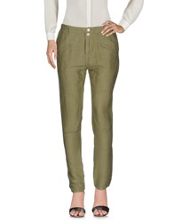 Ego E Go Casual Pants Military Green