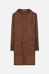 Ami Alexandre Mattiussi Long Parka Brown