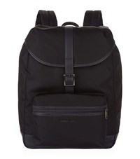 Armani Jeans Canvas Backpack Unisex Navy