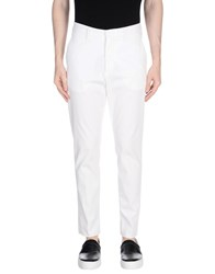 The Editor Casual Pants White