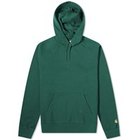 Carhartt Wip Hooded Chase Sweat Green