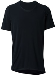 Individual Sentiments Relaxed Fit Layered T Shirt Black