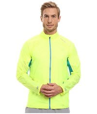 Brooks Lsd Jacket Nightlife Ultra Blue Men's Coat Yellow