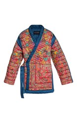 Etro Reversible Quilted Jacket Print