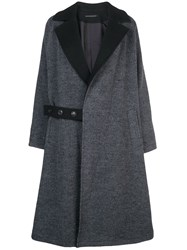 Y's Trench Coat Grey
