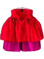 Christopher Kane Tiered Cupcake Corset Dress
