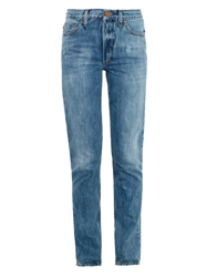 Aries High Rise Slim Boyfriend Jeans