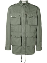 Faith Connexion Customisable Parka Jacket Green