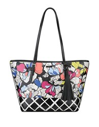 Nine West Ava Tote Multi Black