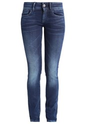 G Star Gstar Lynn Mid Skinny Slim Fit Jeans Loomer Blue Dark Blue Denim
