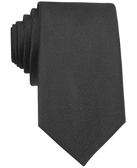 Bar Iii Carnaby Collection Sable Solid Tie Black