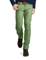 Polo Ralph Lauren Varick Slim Straight Stretch Jeans Green