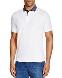 Armani Collezioni Regular Fit Polo White