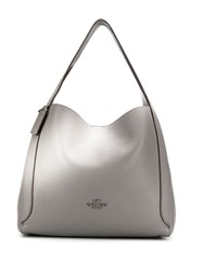Coach Hadley Hobo Bag Grey