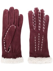 Agnelle Marielouise Gloves Red