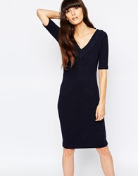 Selected Malou Bodycon Dress Navy