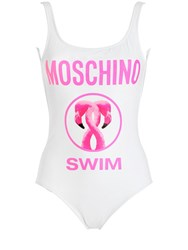 Moschino Swim Lycra Bathing Suit