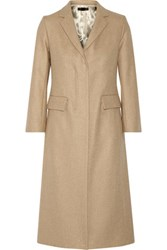 The Row Jackson Wool Blend Twill Coat Sand