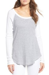 Splendid Women's Long Sleeve Thermal Tee