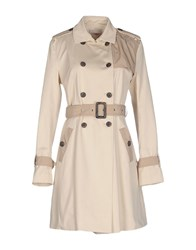 Stefanel Coats And Jackets Full Length Jackets Women Beige