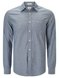 Dockers Laundered Poplin Cotton Shirt Huff Moonlit Ocean