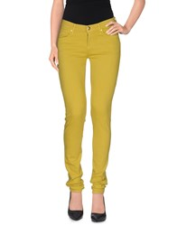 Juicy Couture Denim Denim Trousers Women Acid Green