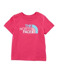 The North Face Short Sleeve Logo Graphic Tee Size 2 4T Pink