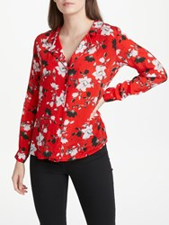 Lily And Lionel Magnolia Girlfriend Shirt Red