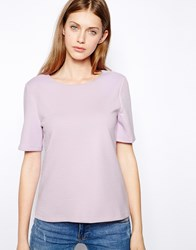 Warehouse Texture T Shirt Lilac