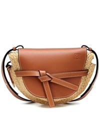 Loewe Gate Small Crossbody Bag Brown