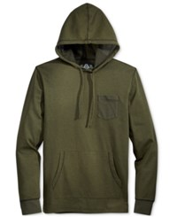 American Rag Men's Homebased Colorblocked Long Sleeve Hoodie T Shirt Only At Macy's Forest Night