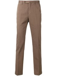 Hackett Straight Leg Chinos Brown
