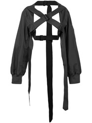 Yang Li Buckle Jacket Black