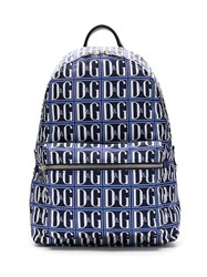Dolce And Gabbana All Over Dg Printed Backpack 60