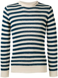 Nuur Striped Jumper White