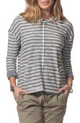 Rip Curl Next Move Stripe Hooded Pullover Black