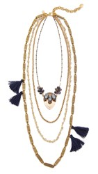 David Aubrey Charley Necklace Gold Multi
